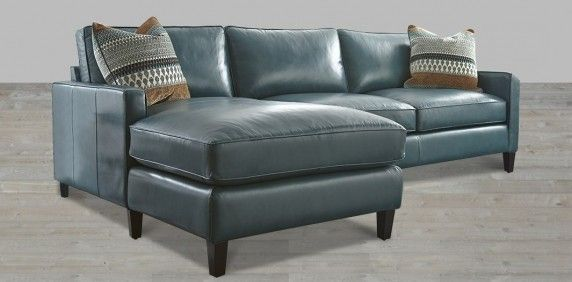 100 Full Grain Leather Sofa Made In Usa Blue Leather Couch Couch With Chaise Sectional Sofa With Chaise