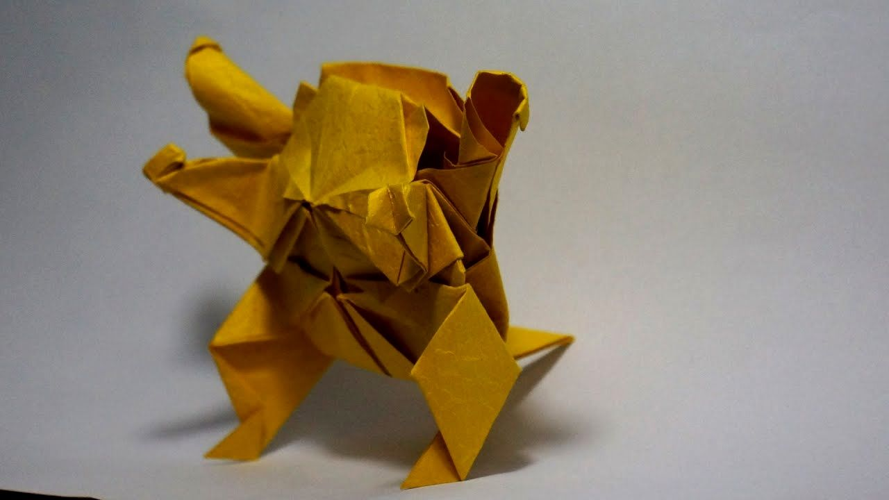 Photo of Pokemon Go Origami Pokemon Blastoise Tutorial Henry Origami Pokemon