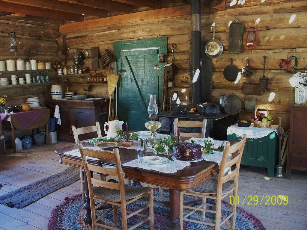 pioneer cabin interior  Google Search  cabin  Pioneer