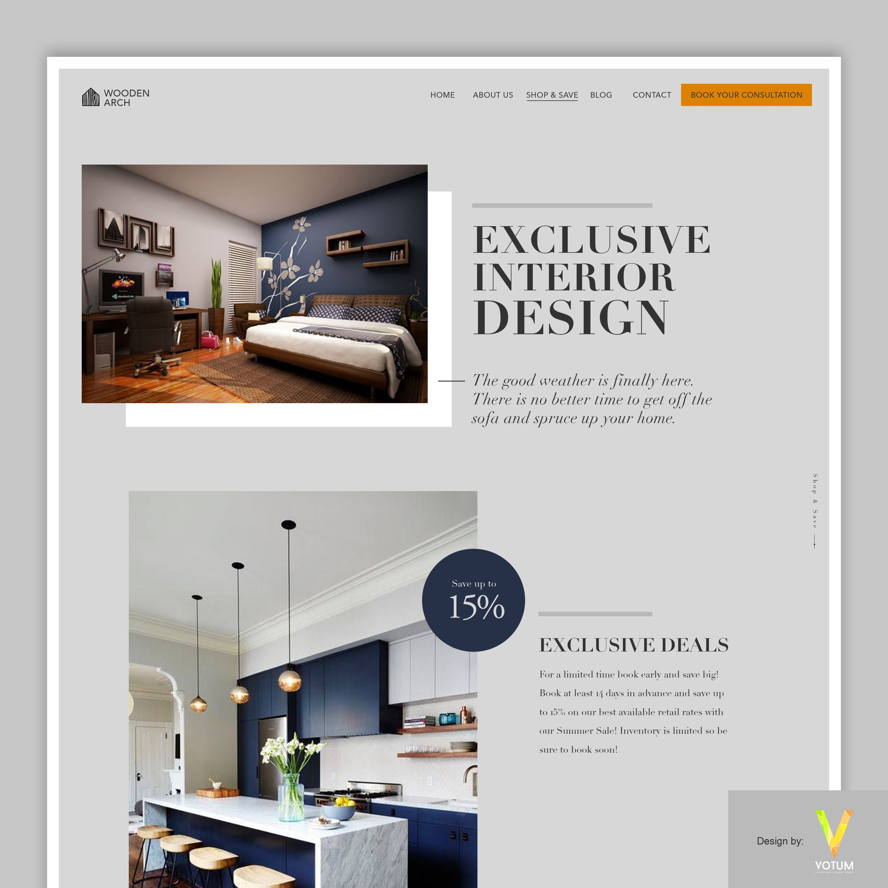 Flat web theme Minimal HTML Web Template comes from Votum ...