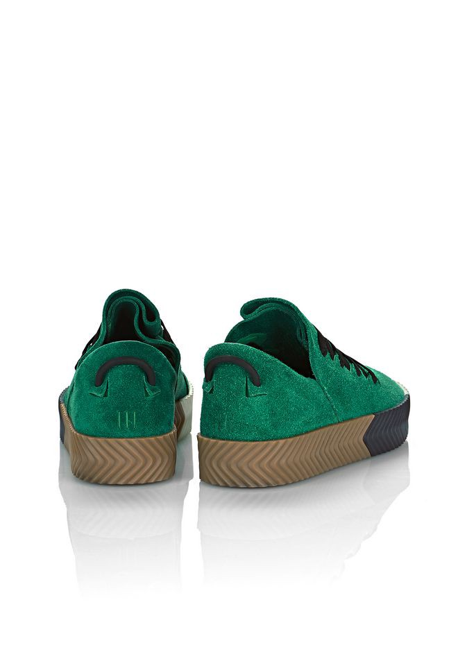 best sneakers bd195 ddaa5 Alexander Wang Adidas Originals By Aw Skate Shoes - Green 12.5