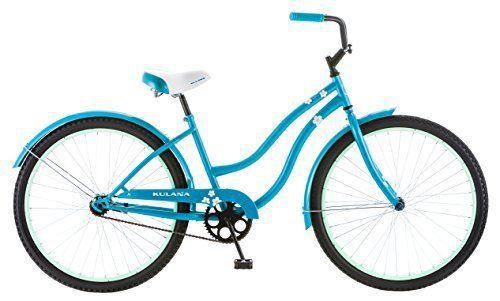 Kulana Women S Cruiser Bike 26 Inch Blue Beach Bicycle
