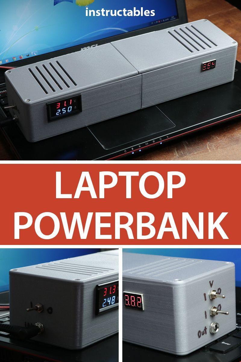DIY Laptop PowerBank Diy laptop, Laptop screen repair