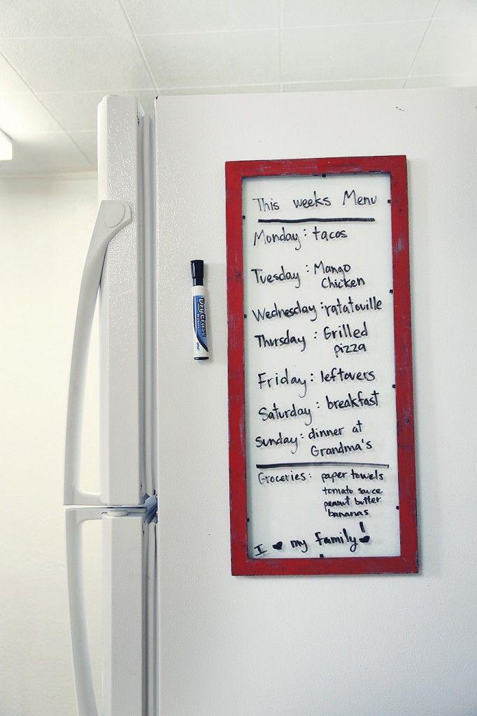 Diy Fridge Whiteboard Decorating Mistakes Diy White Board