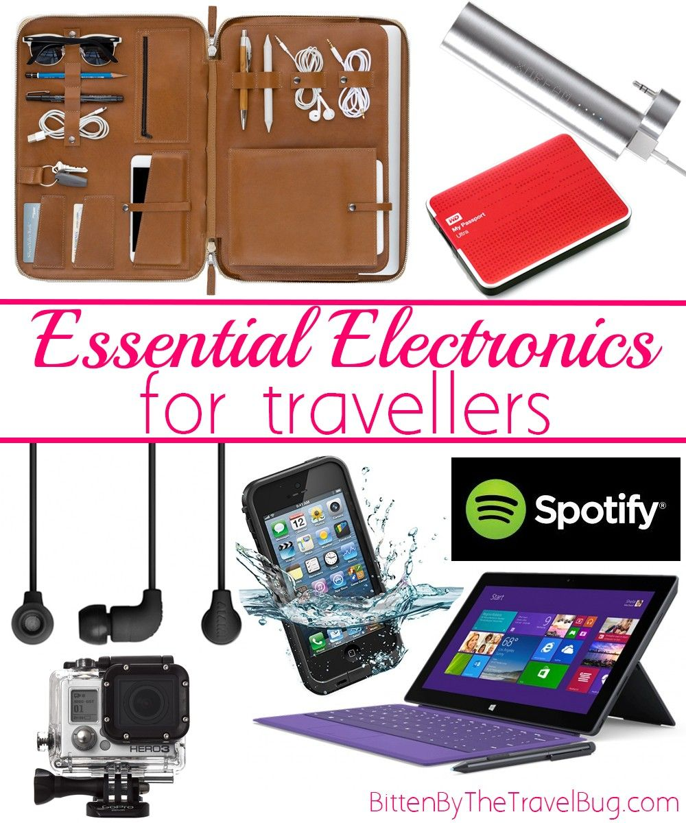 christmas gift guide for travellers essential electronics - Electronic Christmas Gifts