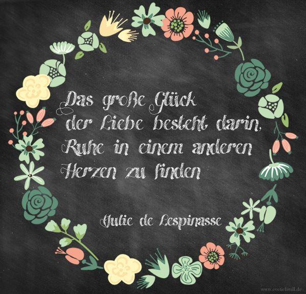 Julie de Lespinasse - Zitat über die liebe | Liebe ist ...