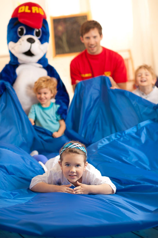 Im Rahmen der DLRG/NIVEA Kindergartentage wird den Kleinen auf spielerische Art…
