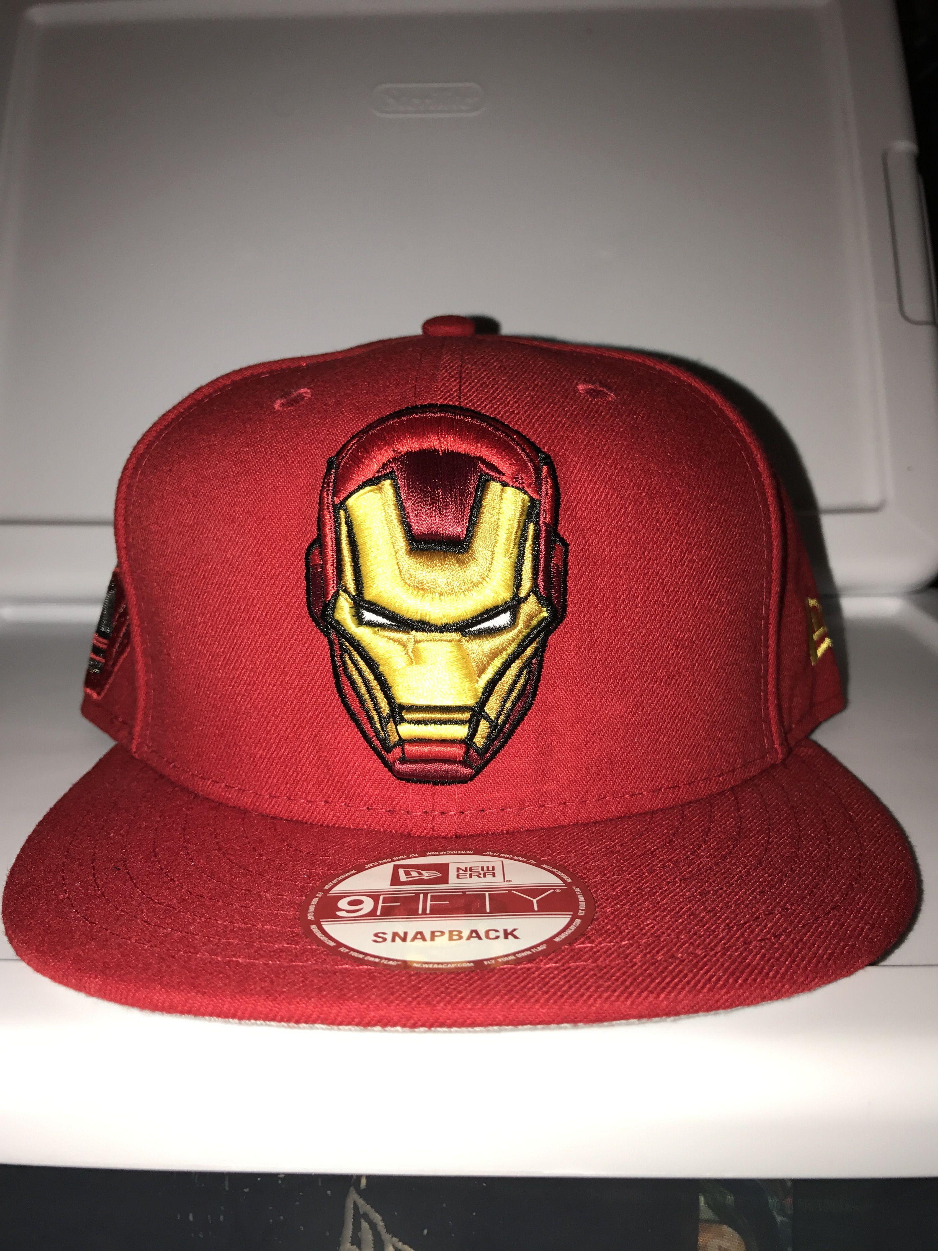 sale retailer 5ba61 e8cd6 New era marvel Iron Man fresh side snapback
