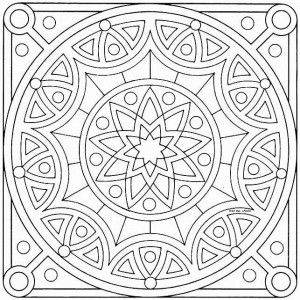 Mandalas budistas para imprimir (12)