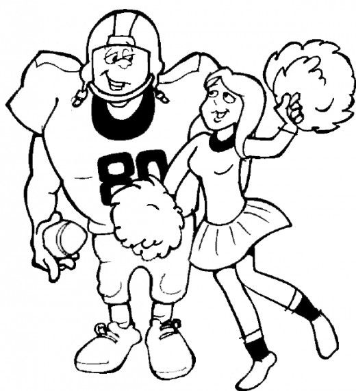 Football Coloring Pages & Sheets for Kids