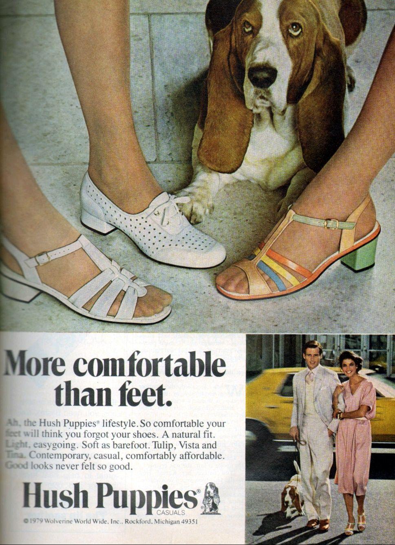 Hush Puppies 1979 Hush Puppies Shoes Hush Puppies 60s And 70s Fashion