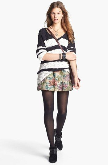 fe00b52f3 Free People Stripe Pullover & Tapestry Skirt available at #Nordstrom ...