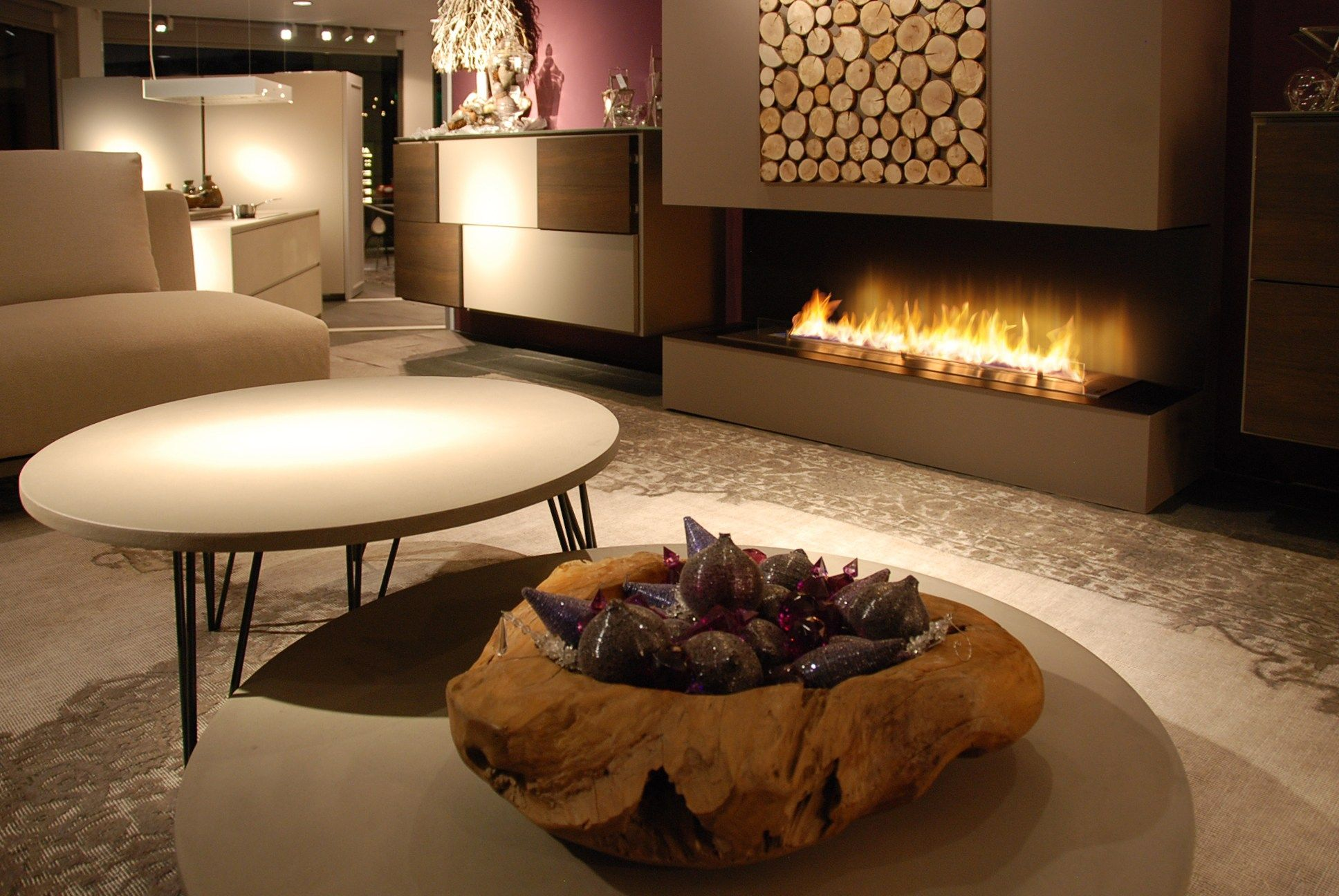 Good Planika Fireplaces Part - 13: Built-in Fireplace Controlled By Wi-Fi And Remote Control FIRE LINE  AUTOMATIC 3