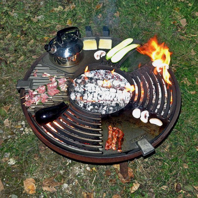 Feuerkuche Fur Feueschalen Aus Gusseisen Kochen Am Feuer
