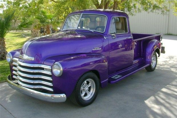 1953 Chevrolet 3600 350 V8 Custom Pickup Car Pictures Chevrolet Vintage Trucks Old Trucks