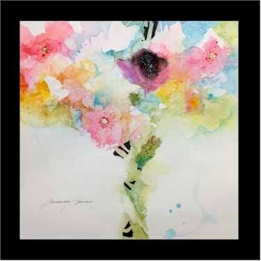 Flora 32 Mixed Media By Amanda Spencer Www Amandaspencer Co Uk