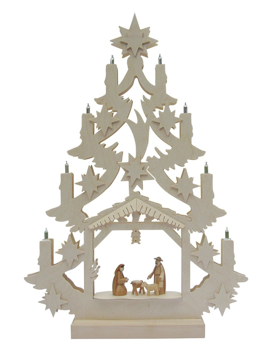 Nativity Scene Tree Archlimited Edition Hand Crafted