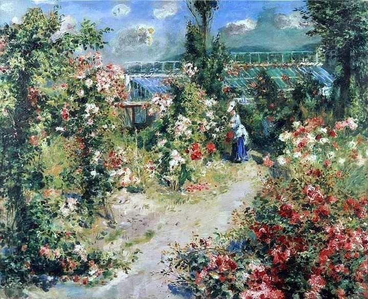 Pierre Auguste Renoir The Greenhouse 1876 Renoir Art Pierre Auguste Renoir Renoir Paintings