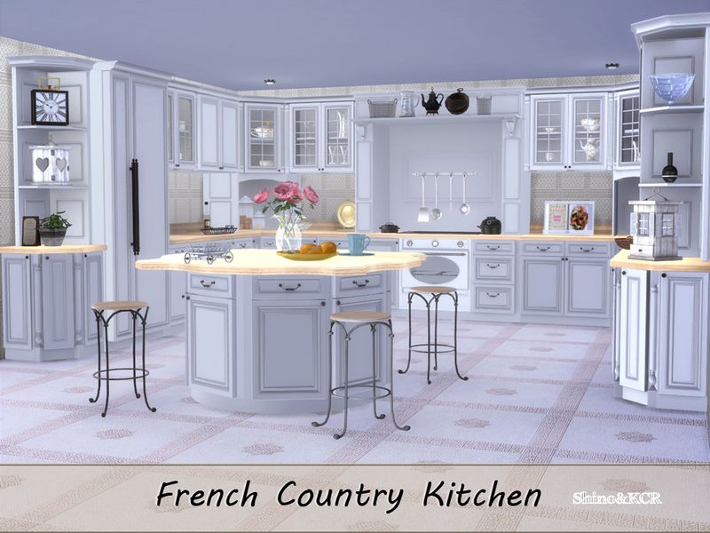 Kitchenfurniture In French Country Style Found In Tsr Category