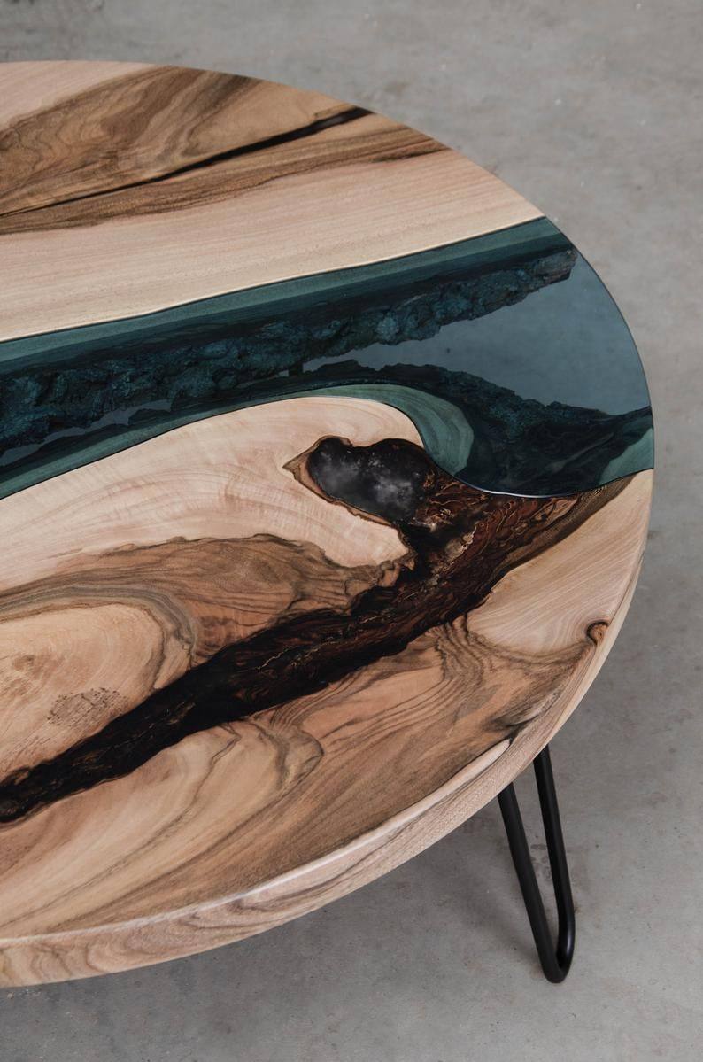 Prime Custom River Table Made Of European Walnut Wood Round Lamtechconsult Wood Chair Design Ideas Lamtechconsultcom