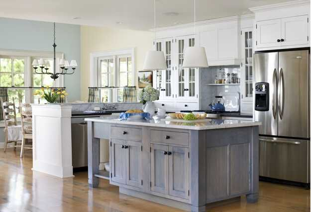 making kitchen design brighter with modern lighting fixtures and