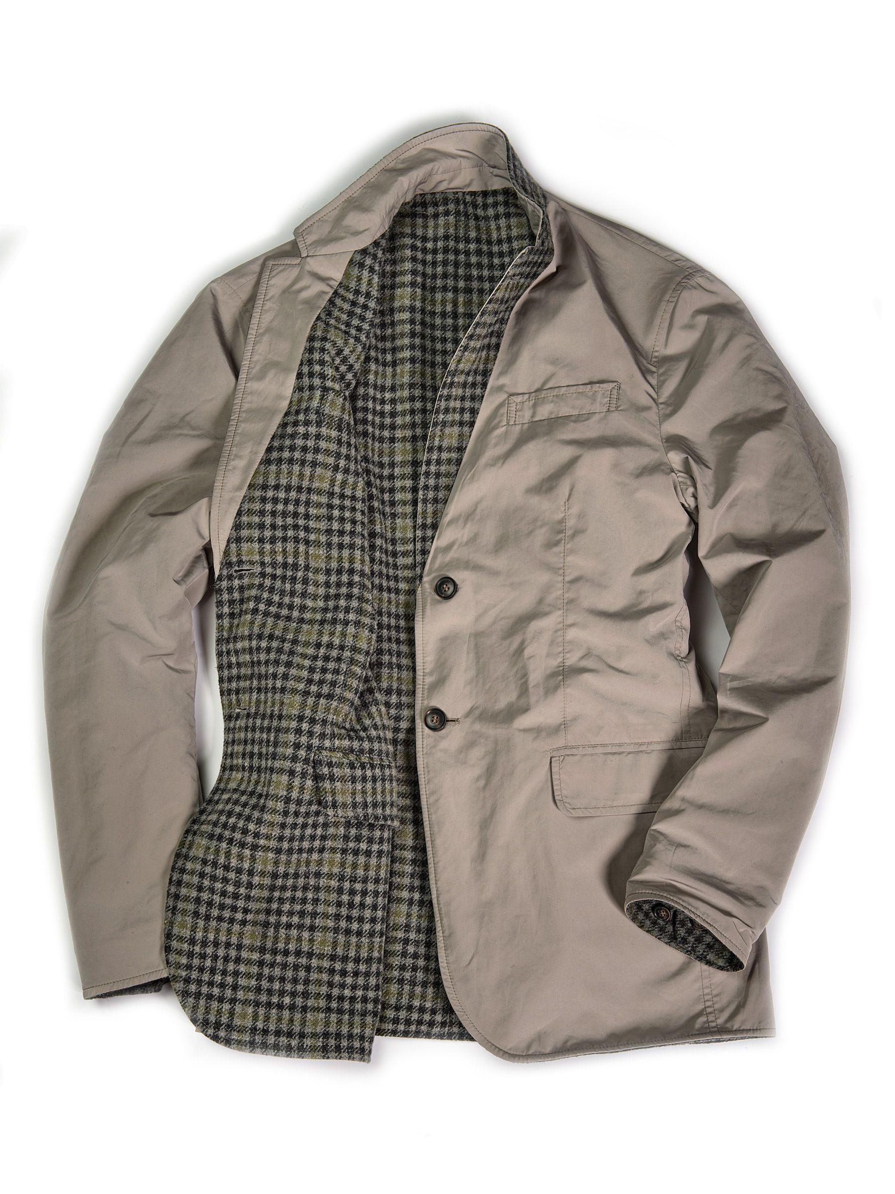 Reversible Sport Coat Smoke The Field Outfitting Company Sport Coat Outerwear Jackets Coat [ 2400 x 1800 Pixel ]
