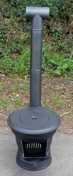 Logger Outdoor Patio Heater Chiminea Camping Stove