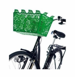 Design House Carrie Bicycle Basket (green)