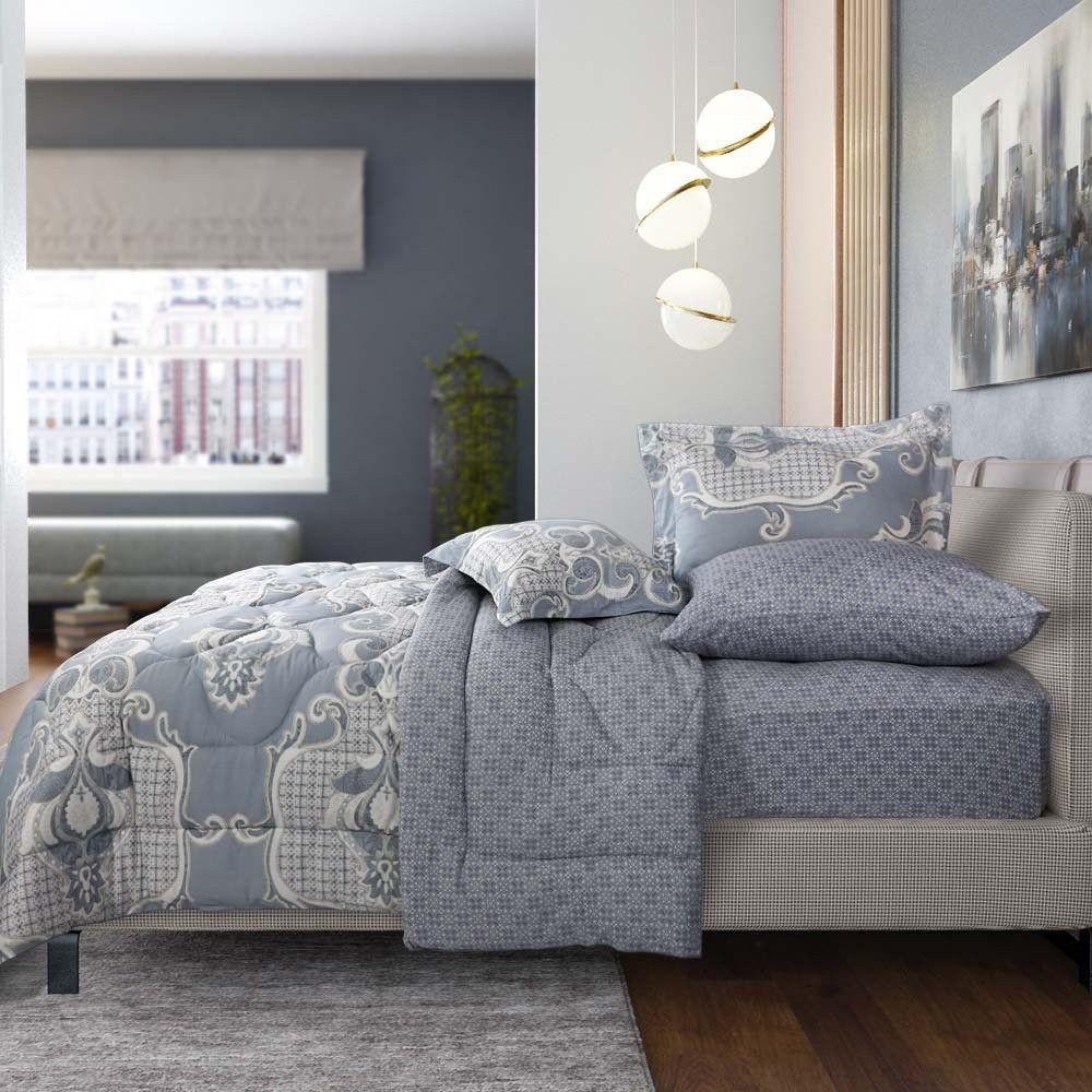 مفرش قطن مقاس كوين 5 قطع فلانتينا مفارش ميلين In 2021 Bed Blanket Home