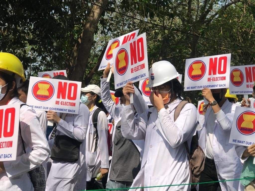 Whatshappeninginmyanmar In 2021 Burma General Strike Myanmar
