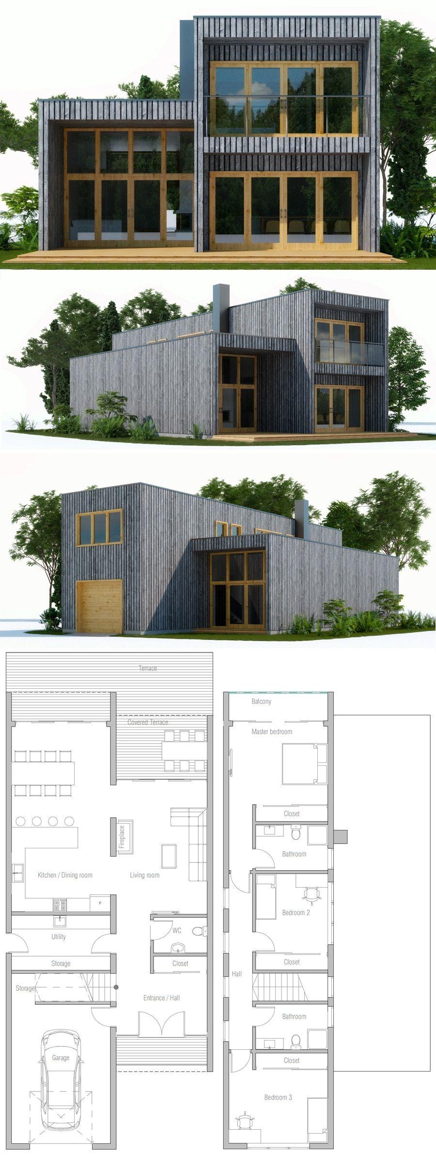 Hausplan | zukünftiges Haus | Pinterest | Grundrisse, Architektur ...