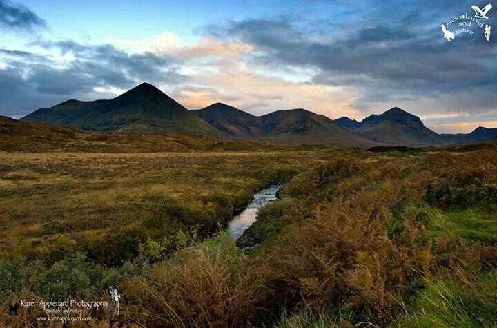 Glen Varragill. Skye
