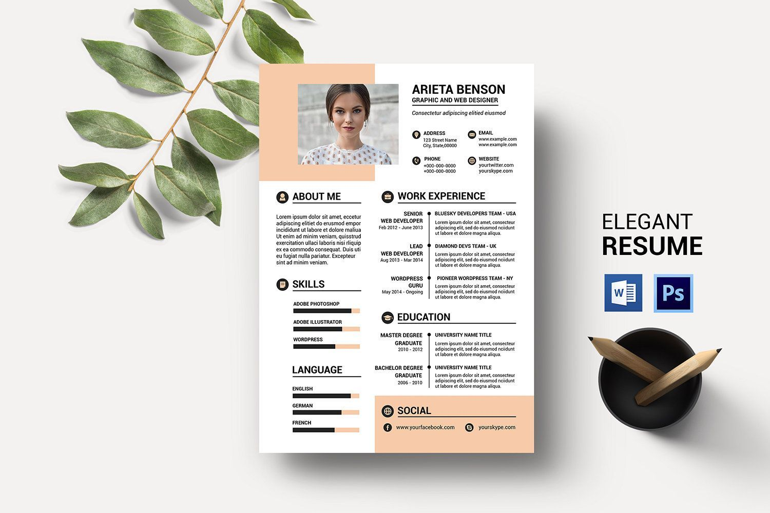 13 Free Resume examples sample tips in 2020 Clean resume