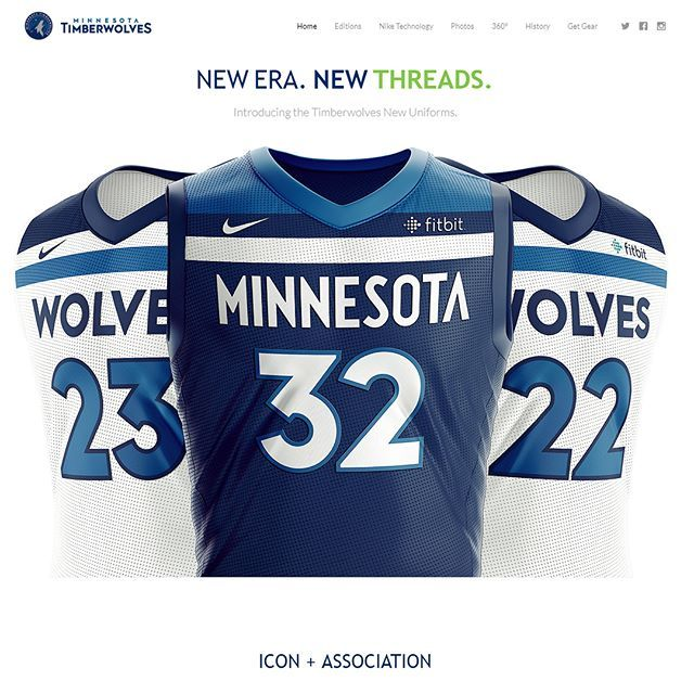 Download Our Basketball Uniform Template Was Just Used By The Timberwolves For Their New Jersey Release I Basketball Uniforms Design Sports Design Free Basketball