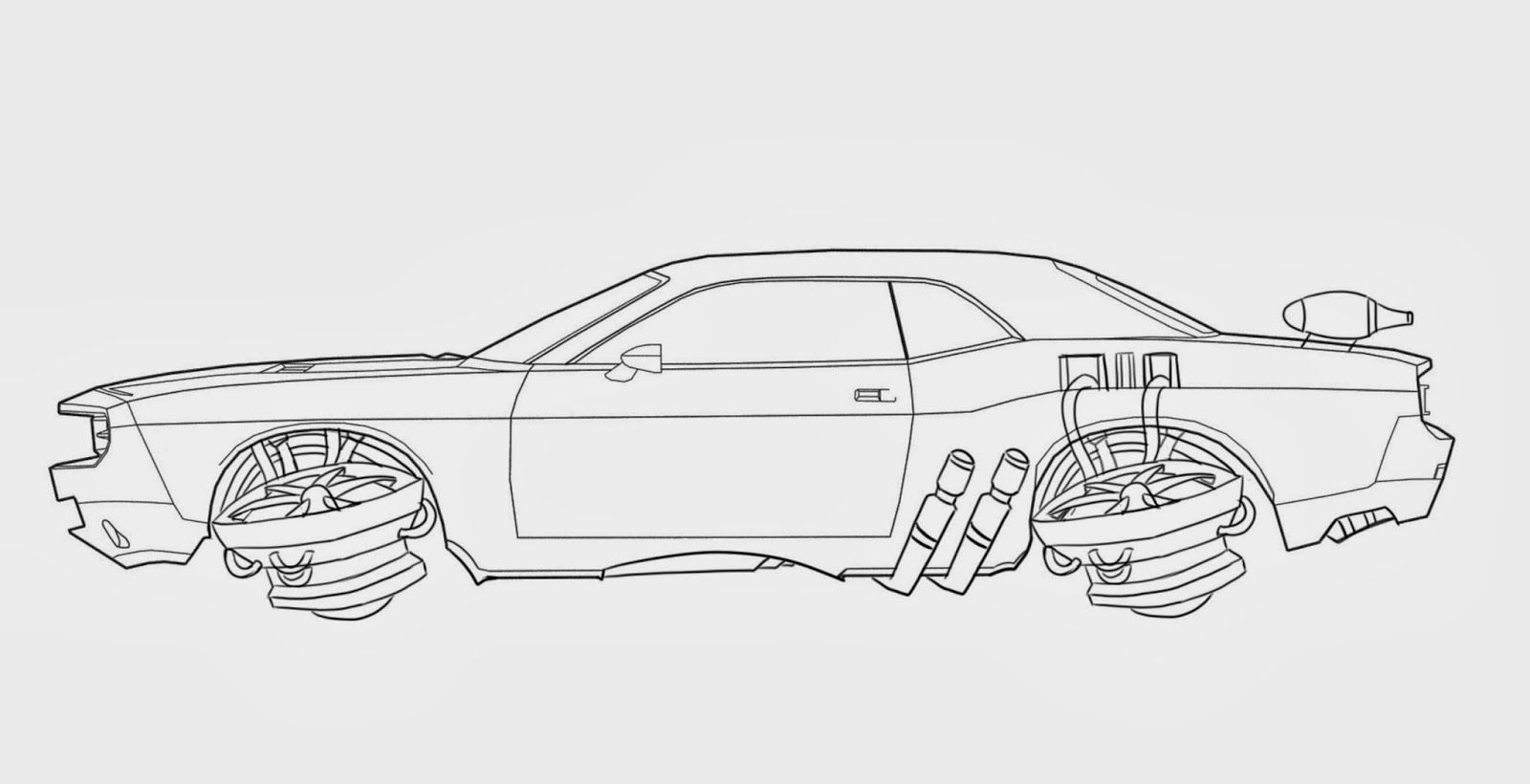 Flying Cars Of The Future Drawing Before Making The Car I