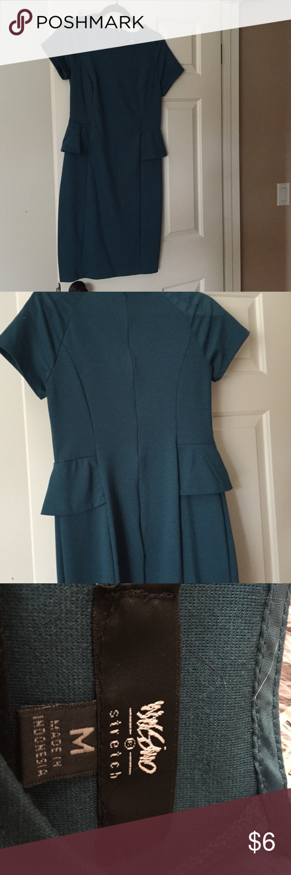 Dress Dark green dress . Size M..  Above the knees dress Cute for going to church. Mossimo Supply Co. Dresses Midi