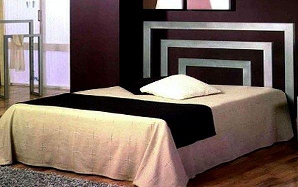 Cabecero de cama moderno bruselas acero pinterest - Cabeceros de cama modernos online ...