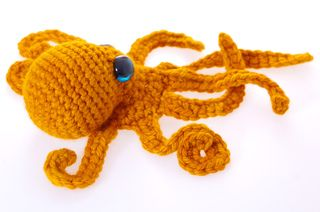Realistic Crochet Octopus