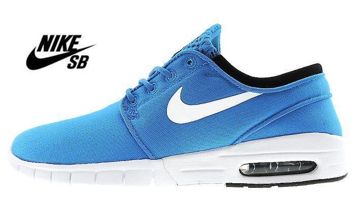 97a58f9ea95a Nike Stefan Janoski Max PHOTO BLUE WHITE BLACK Nike Janoski Max