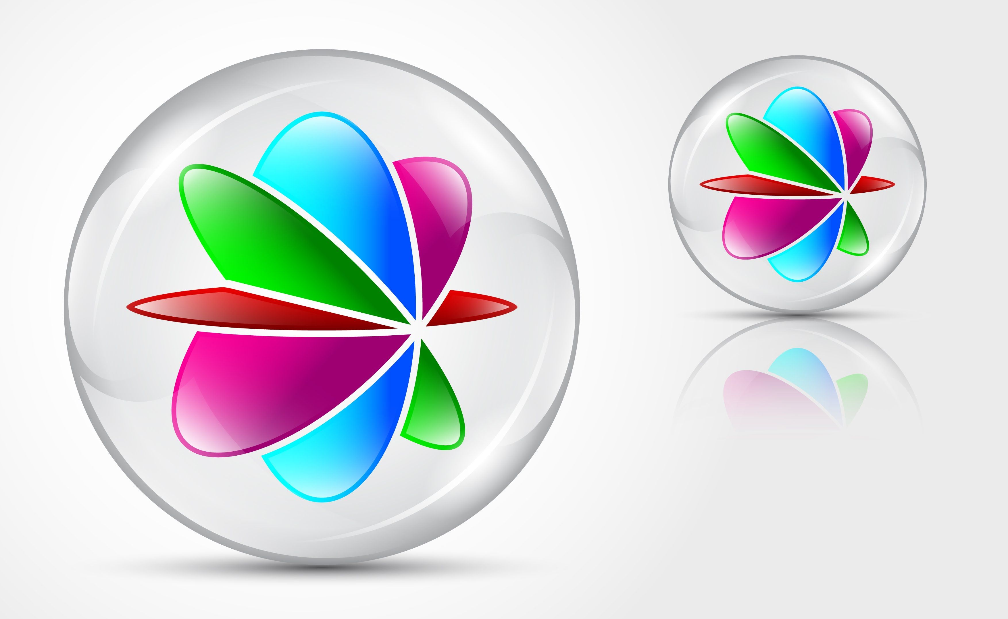 3D Logo Design in vector format. This is Adobe Illustrator