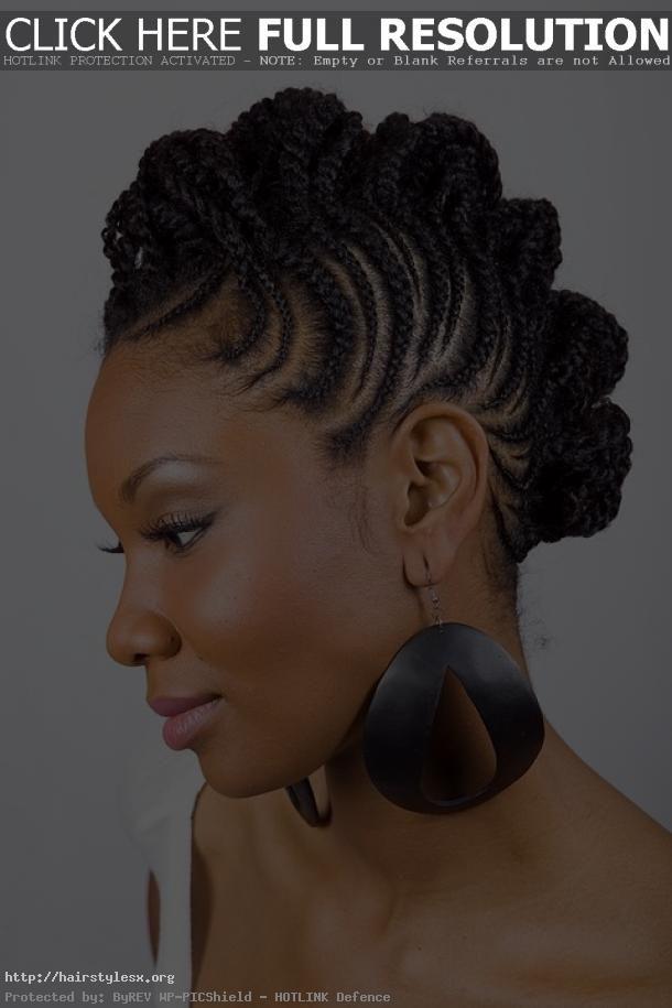 Black Women Braids Hairstyles 2013 Similar Design Braid Updo
