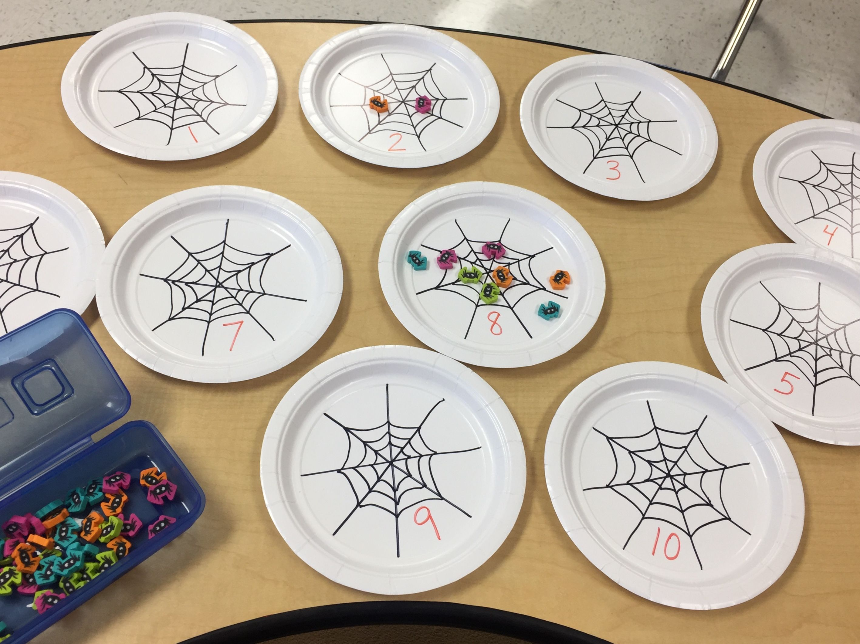 Halloween Themed Spider Counting Activity For 2 I Got
