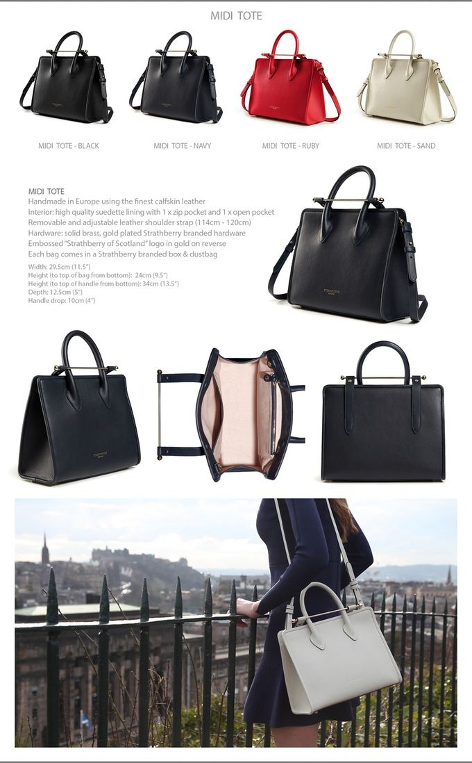 28c4361a06 Strathberry - luxury bags   accessories by Strathberry of Scotland —  Kickstarter