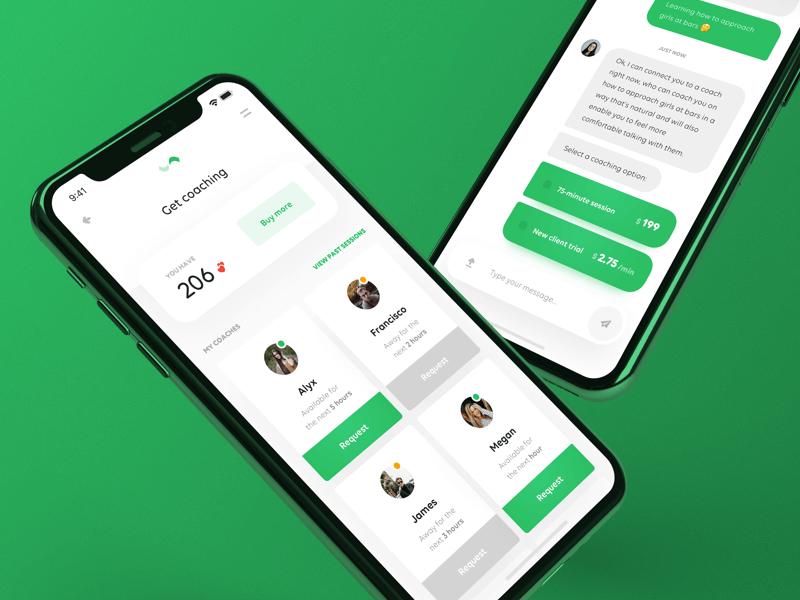 Uijar Relationship Coaching App En 2020 Design Ios Interfaces Flat Ios