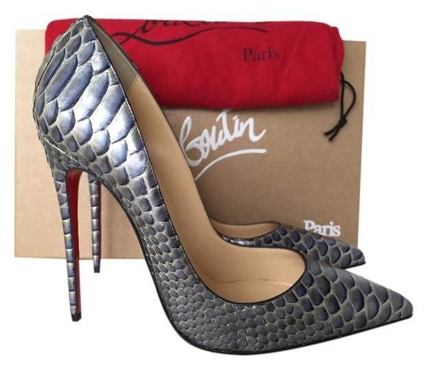 0a2fe19786a Blue Gray So Kate 120 Python Armure It Pumps in 2019 | Shoe me ...