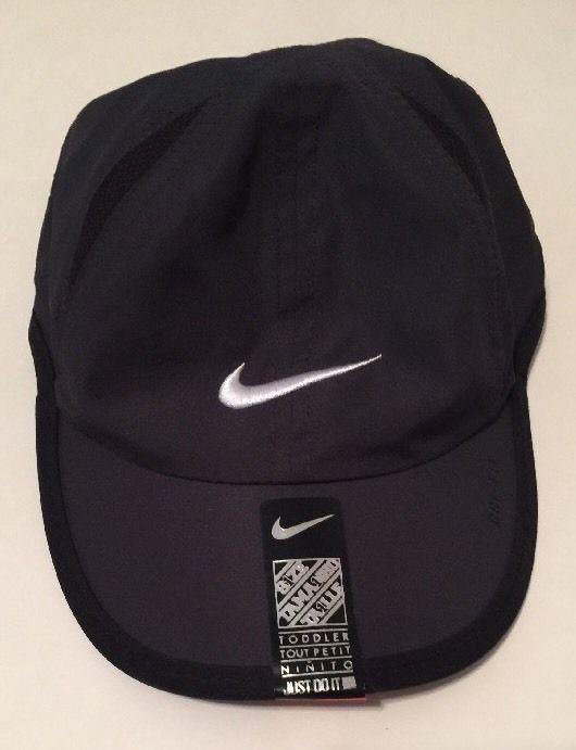 fcc6c3b9dcfd5 Nike Toddler Boy s Dri Fit Baseball Cap Black New