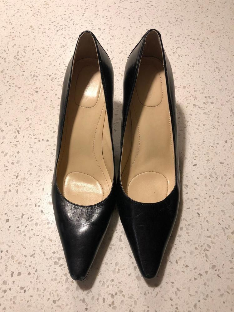 ca1d08caf34f Calvin Klein Womens Kimberly Black Pumps Heels Shoes size 7.5 M US 37.5 EU   fashion  clothing  shoes  accessories  womensshoes  heels (ebay link)   ...
