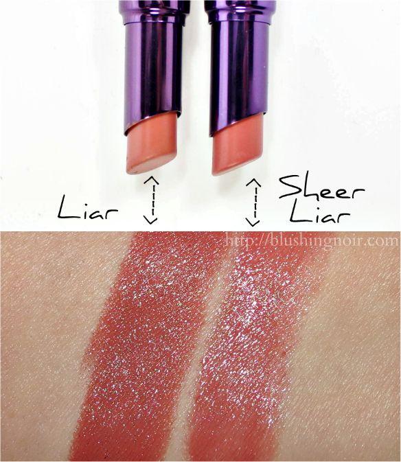 The New Urban Decay Sheer Revolution Lipsticks Still Pack