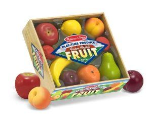 Amazon.com: Melissa & Doug Playtime Fruits: Toys & Games