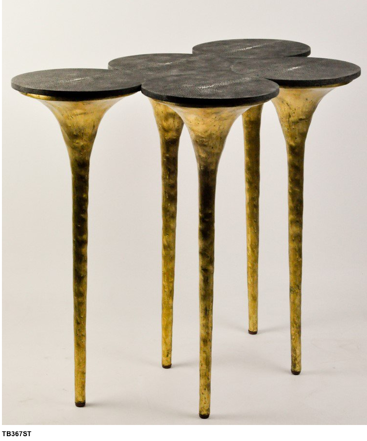 CONTEMPORARY DESIGN  Ginger & Brown console table, black and brass console   www.bocadolobo.com #consoletableideas #modernconsole